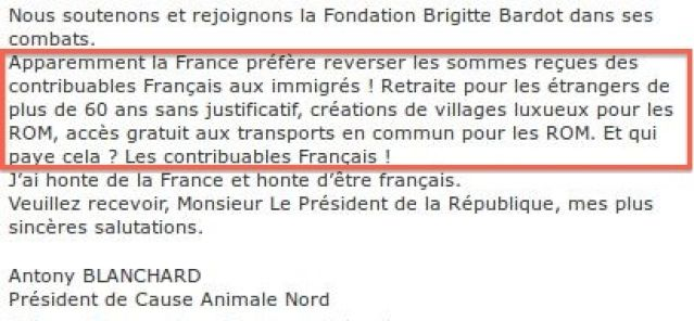 Cause_Animale_Nord_raciste