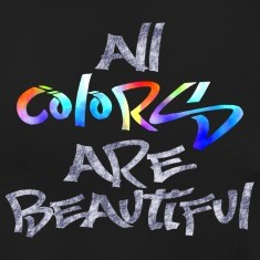 all-colors-are-beautiful-T-Shirts