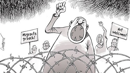 chappatte_refugees guerres