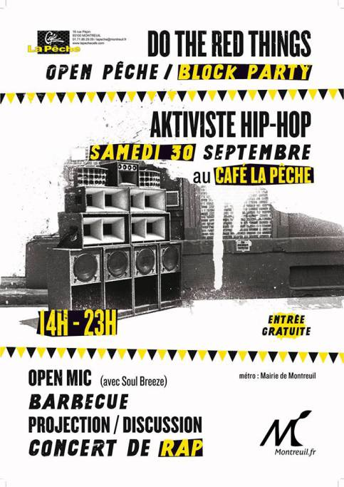 Block Party // Aktiviste // Do the RED Things