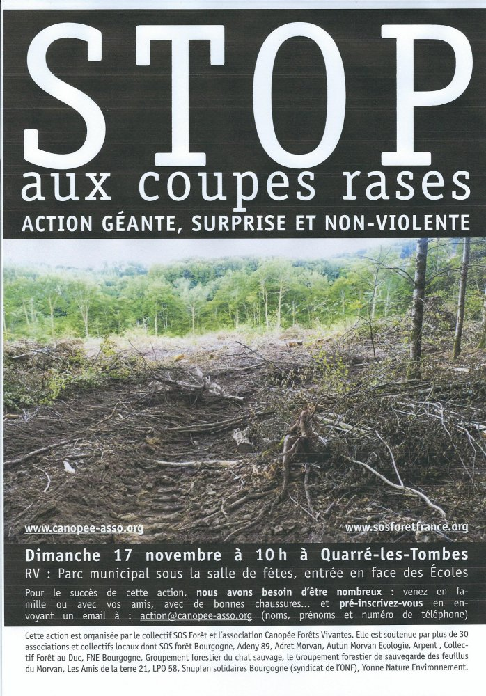 (Morvan) STOP aux coupes rases
