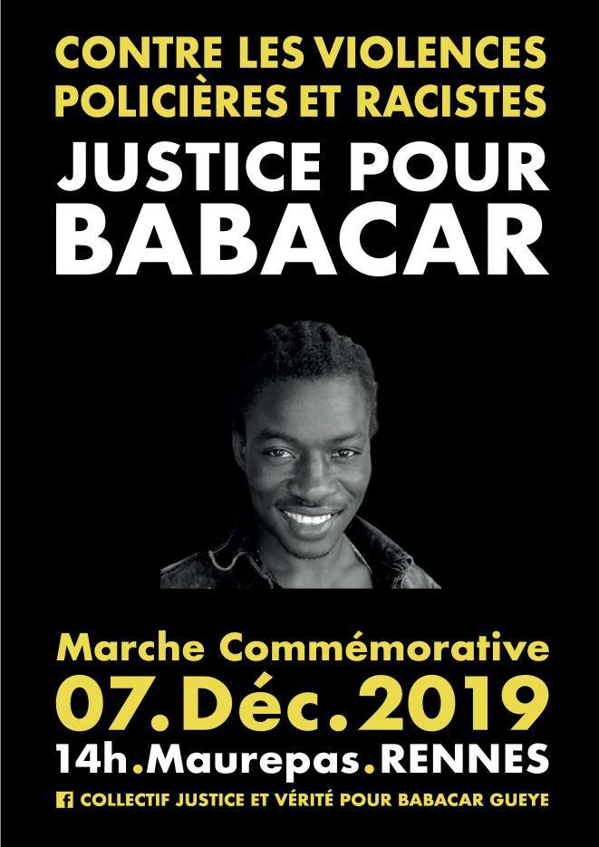 [Rennes] Justice pour Babacar